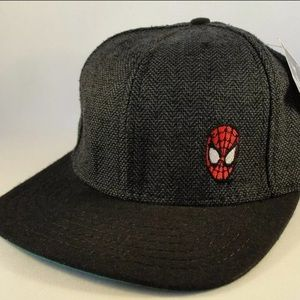 THIS IS A NEW SPIDERMAN VINTAGE STRAPBACK HAT